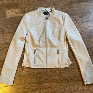 Express Vegan Leather Jacket NWT
